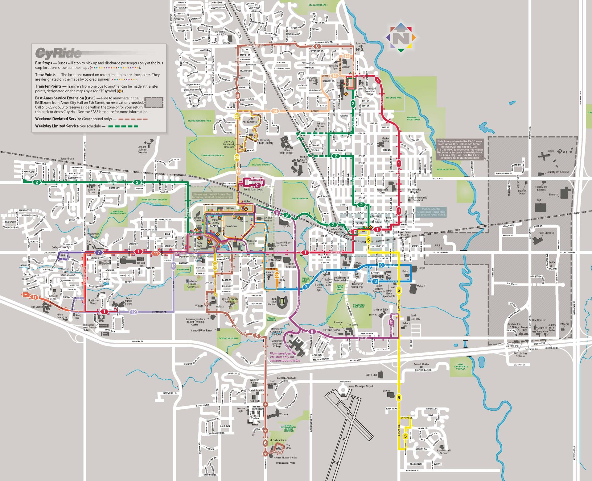 Udm Campus Map.Maps Cyride